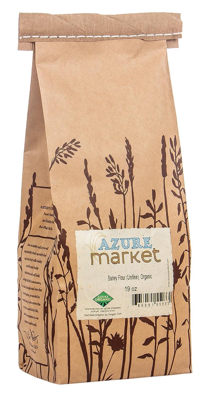 Azure Market Organics Barley Unifine Flour, Non-GMO: Amazon ...