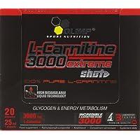 Olimp Orange 25ml L-Carnitine Forte 3000 Extreme Shot - Pack of 20 Shots