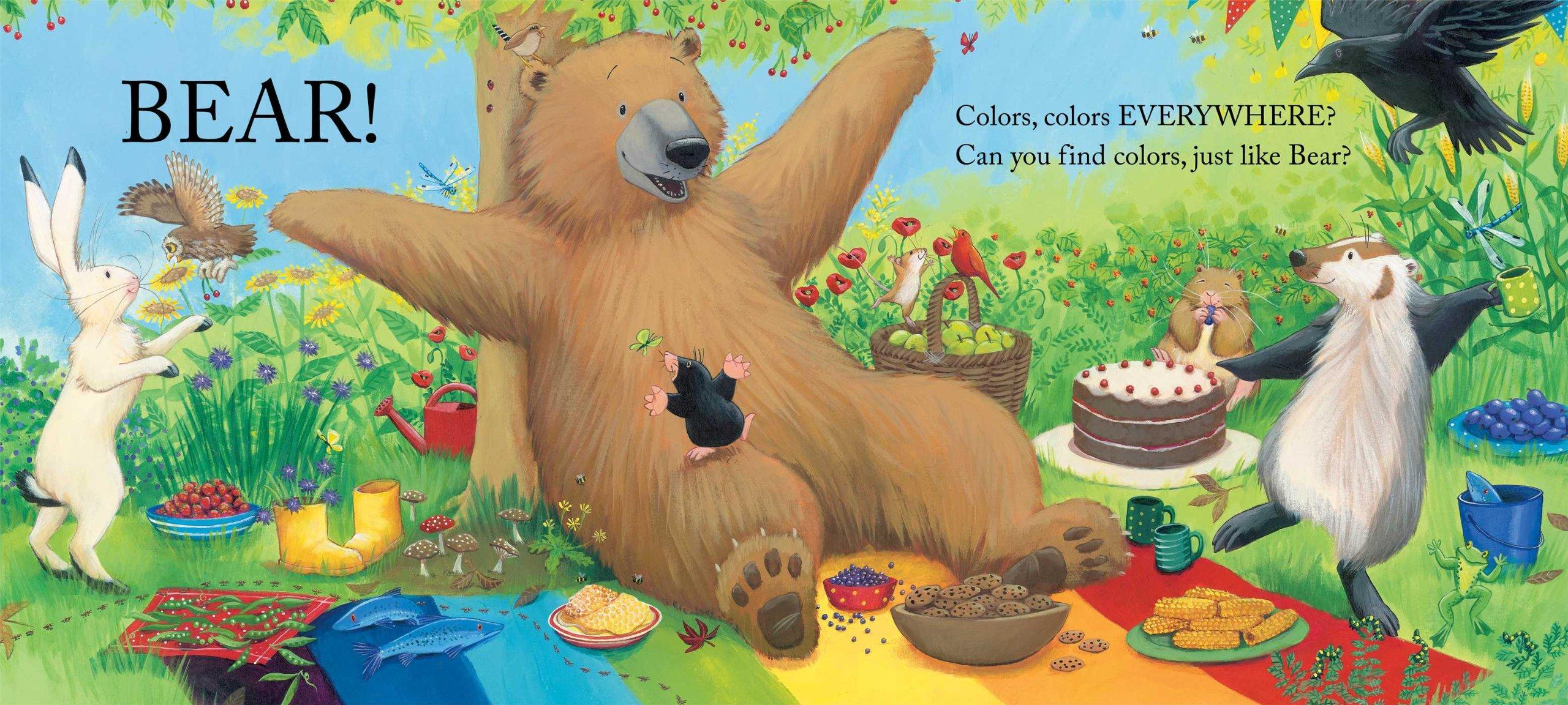 Amazon.com: Bear Sees Colors (The Bear Books) (8601411228612): Karma ...