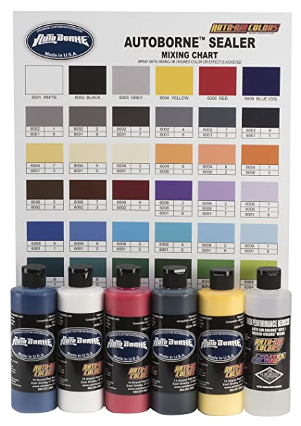 Amazon Auto Air Colors Autoborne Sealer Primary Set With Color