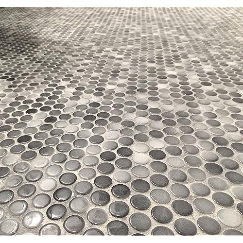 Penny Tile Floor Amazon Com