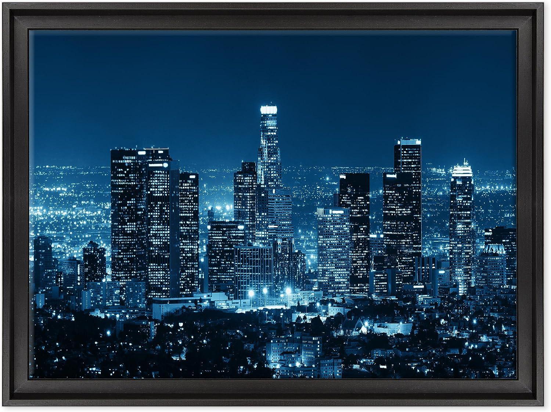 Cuadro sobre lienzo Canvas–ConKrea–Listo para colgar–Los Angeles Downtown–L.A. California–USA America
