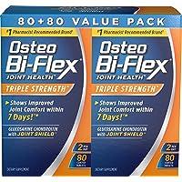 Osteo Bi-Flex Osteo bi-flex triple strength, 80 Count, Twin Pack