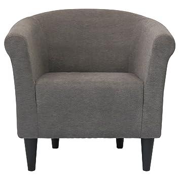 Amazon.com - Modern Barrel Chair - Chic Contemporary Accent ...