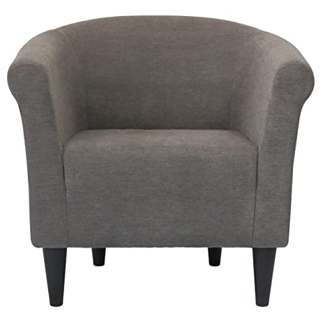 modern barrel chair chic accent furniture living room bedroom seat for home