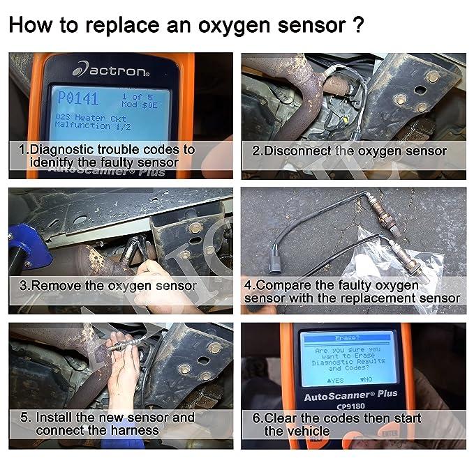 ABIGAIL A16132X Oxygen Sensor for Audi A4 A6 A8 Quattro Cadillac CTS  Volkswagen Bettle Golf