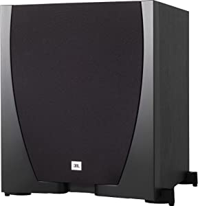 "JBL Sub 550P High-Performance 10"" Powered Subwoofer Sealed Enclosure with Built-in 300-Watt RMS Amplifier"