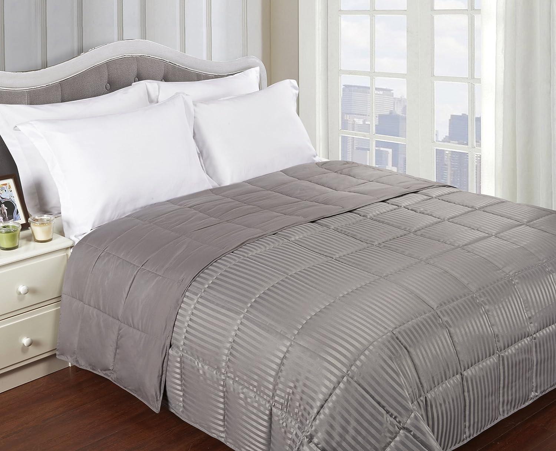 queen bed blanket Amazon.com: Superior Reversible Down Alternative Blanket, Bed  queen bed blanket