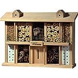 Luxus-Insektenhotels 22625e Hôtel à insectes en bois de chêne 10 pièces + balcon et terrasse