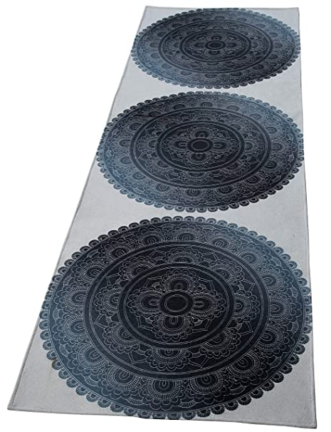 Amazon.com: Ramanta Home Jute Polyester Printed Anti Skid ...