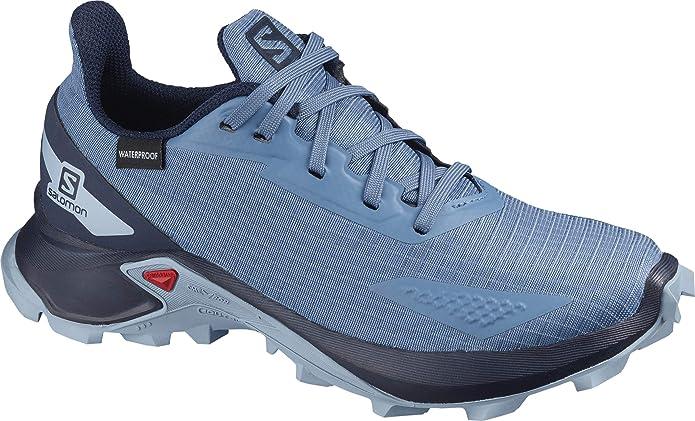Salomon ALPHACROSS Blast CSWP J, Zapatillas de Trail Running para Niños: Amazon.es: Zapatos y complementos
