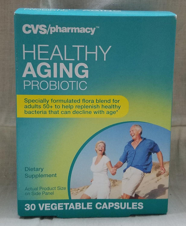 amazon com cvs pharmacy healthy aging probiotic 30 vegetable