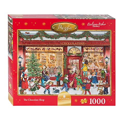 b20ac8dd6770 Amazon.com: Coppenrath Unique Christmas Jigsaw Puzzle - Premium Made ...
