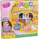 1000 ABC Perlen Rocailles für Armbänder Schlüsselanhänger Schmuck uvm
