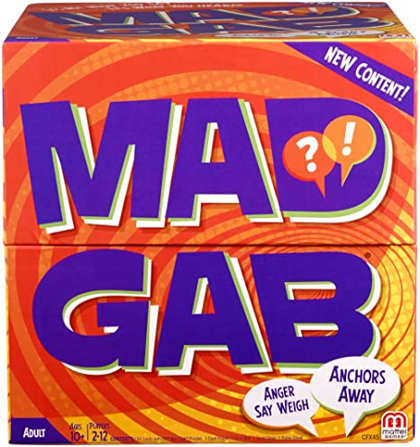 Amazon Mattel Mad Gab Game Toys Games