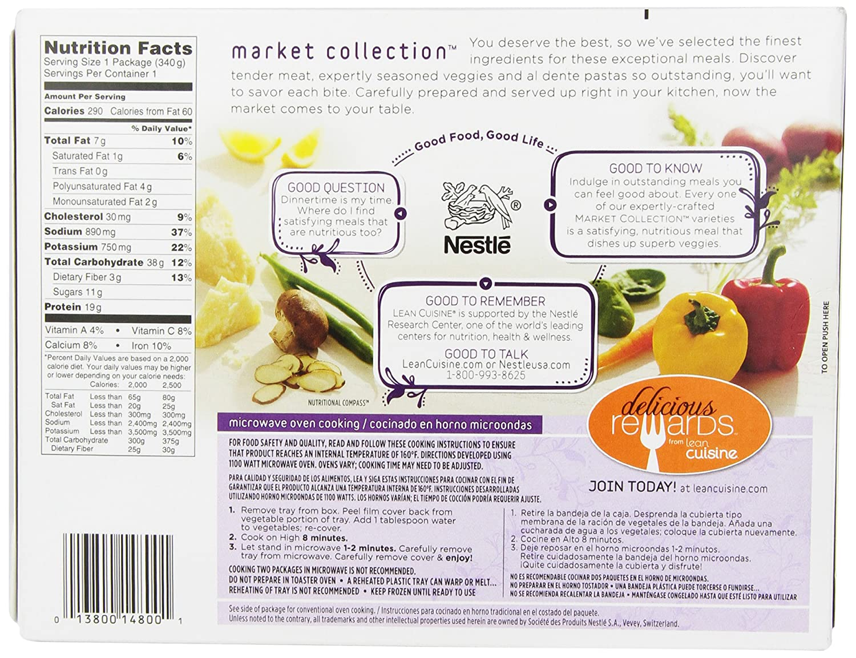 Lean Cuisine, Dinnertime Selects, Roasted Turkey Breast, 12 oz (Frozen): Amazon.com: Grocery & Gourmet Food