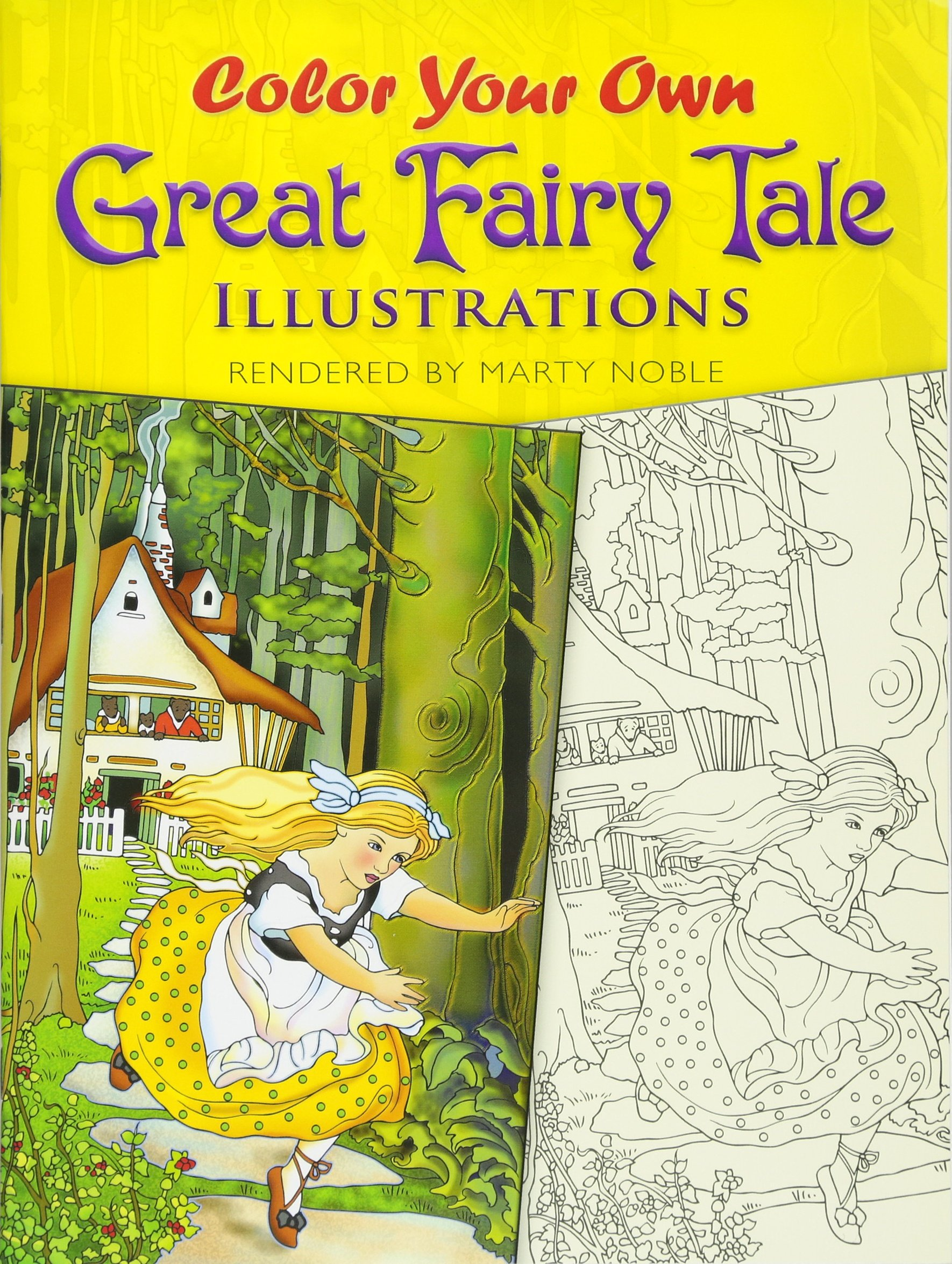 Color Your Own Great Fairy Tale Illustrations (Dover Art Coloring Book) ebook