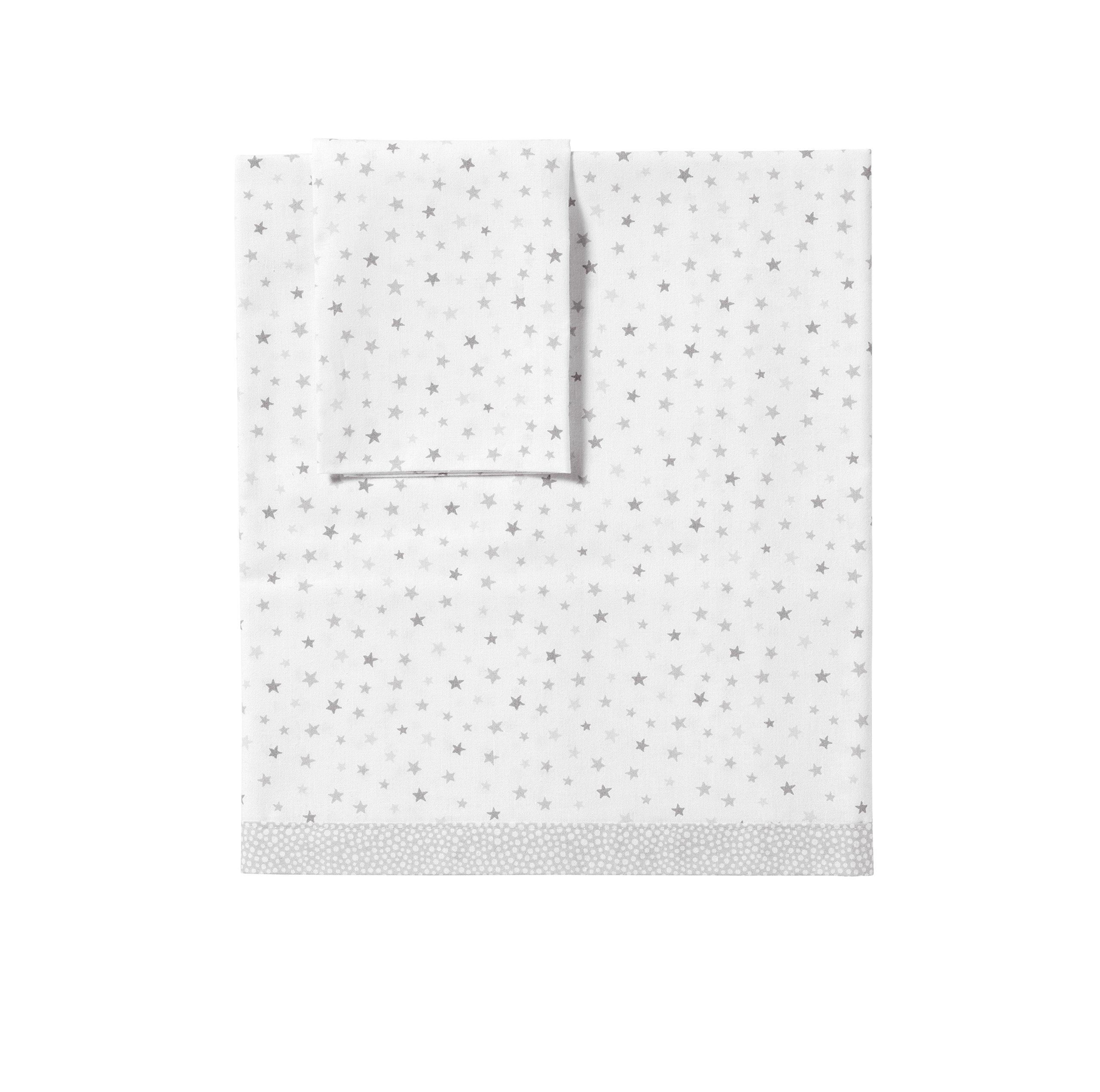 Praia E4421650 - Juego de sábana para cuna de 93 x 71 cm, diseño de