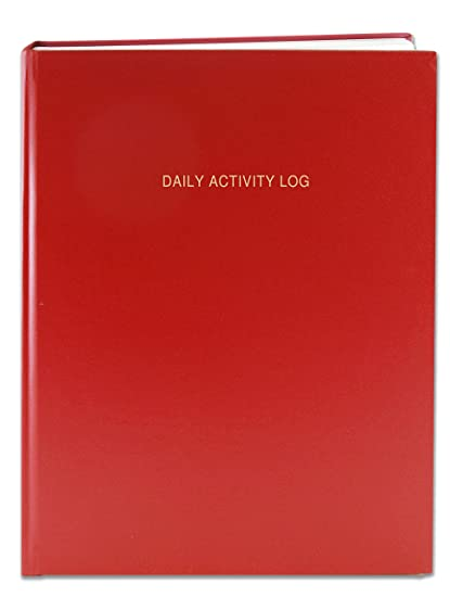 bookfactory daily activity log book 365 day log book 384 pages 8 7