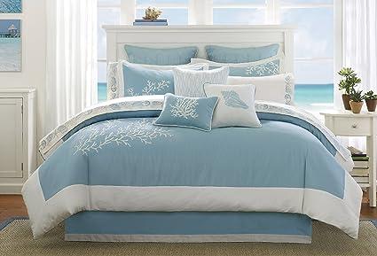 Amazoncom Harbor House Coastline King Size Bed Comforter Set