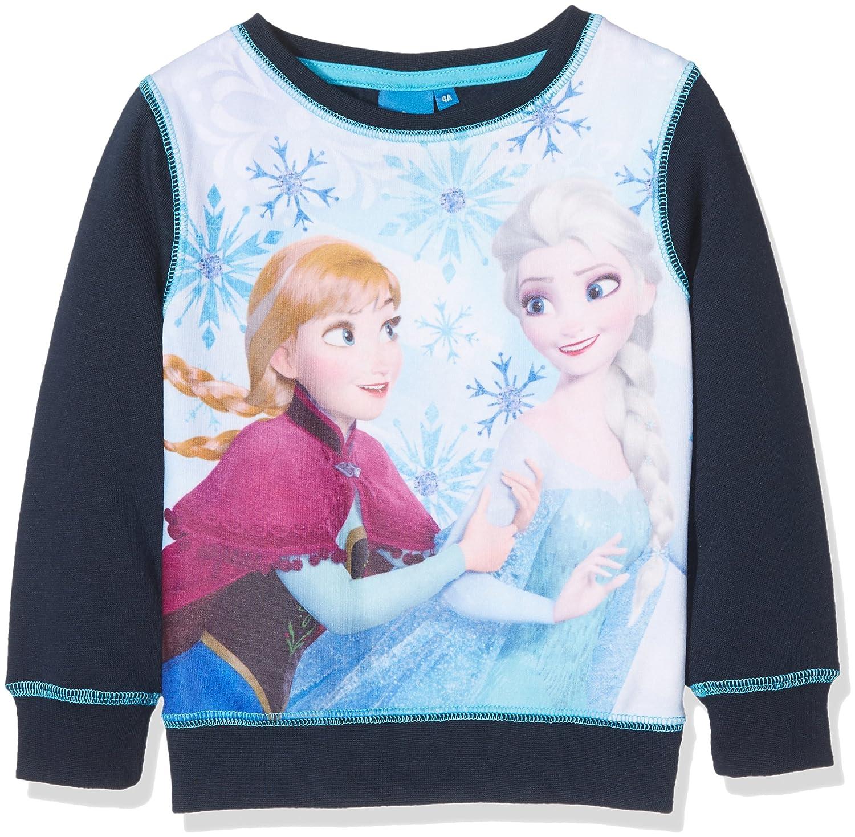 Disney Frozen Girl's Anna & Elsa Sweatshirt