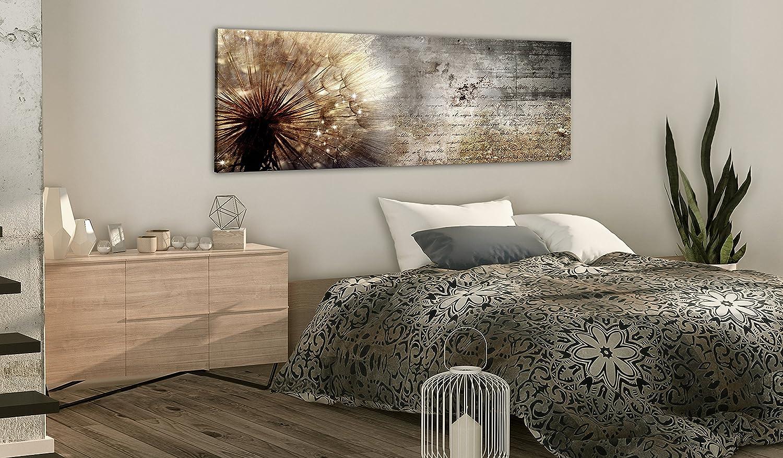 murando - Bilder Pusteblume 199x199 cm Vlies Leinwandbild 19 TLG Kunstdruck  modern Wandbilder XXL Wanddekoration Design Wand Bild - Blumen Natur