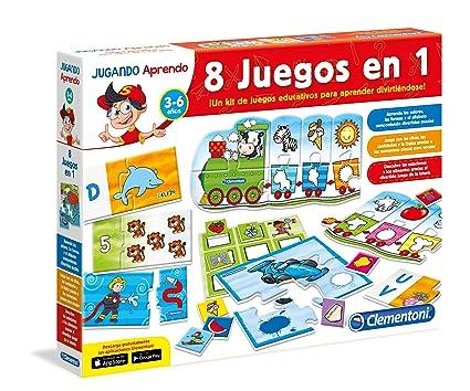 Clementoni Kit 8 Juegos En 1 Juego Educativo 65600 4 Amazon Es