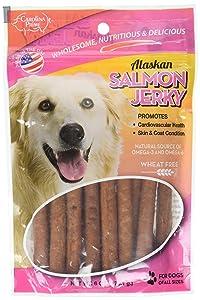 Carolina Prime Oven Baked Salmon Jerky for Dogs, 6oz