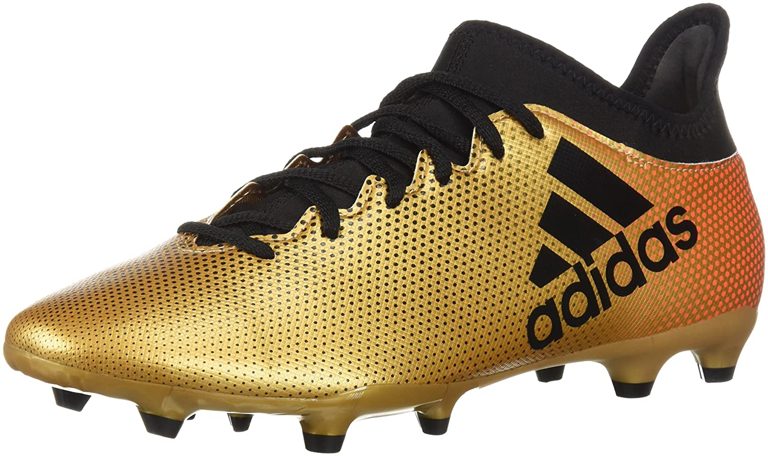 adidas Men's X 17.3 Fg Soccer Shoe B071LF68FC 12.5 D(M) US|Tactile Gold/Core Black/Solar Red