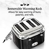 Russell Hobbs 4-Slice Retro Style Toaster, Black