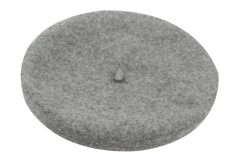 Ababalaya Adult French Vintage Wool Beret Artist Hat