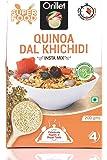 ORILLET Quinoa Dal Kichidi   Instant Mix   Healthy & Tasty   Organic   Delicious   Nutritious   Gluten Free   200gms