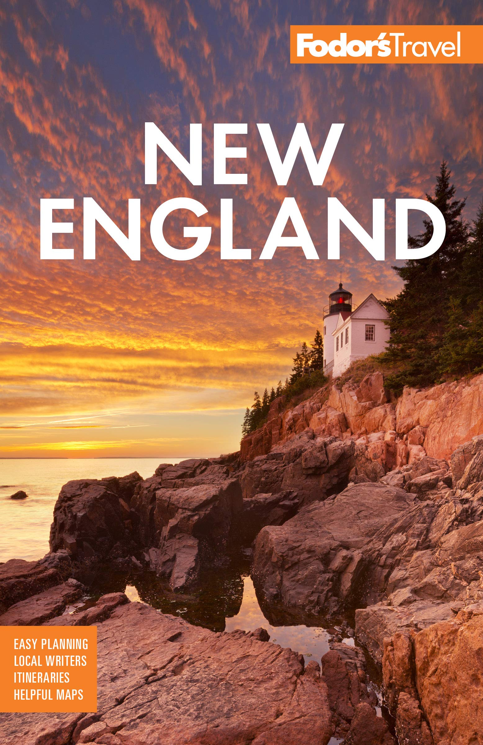 Fodors New England Foliage Full color product image