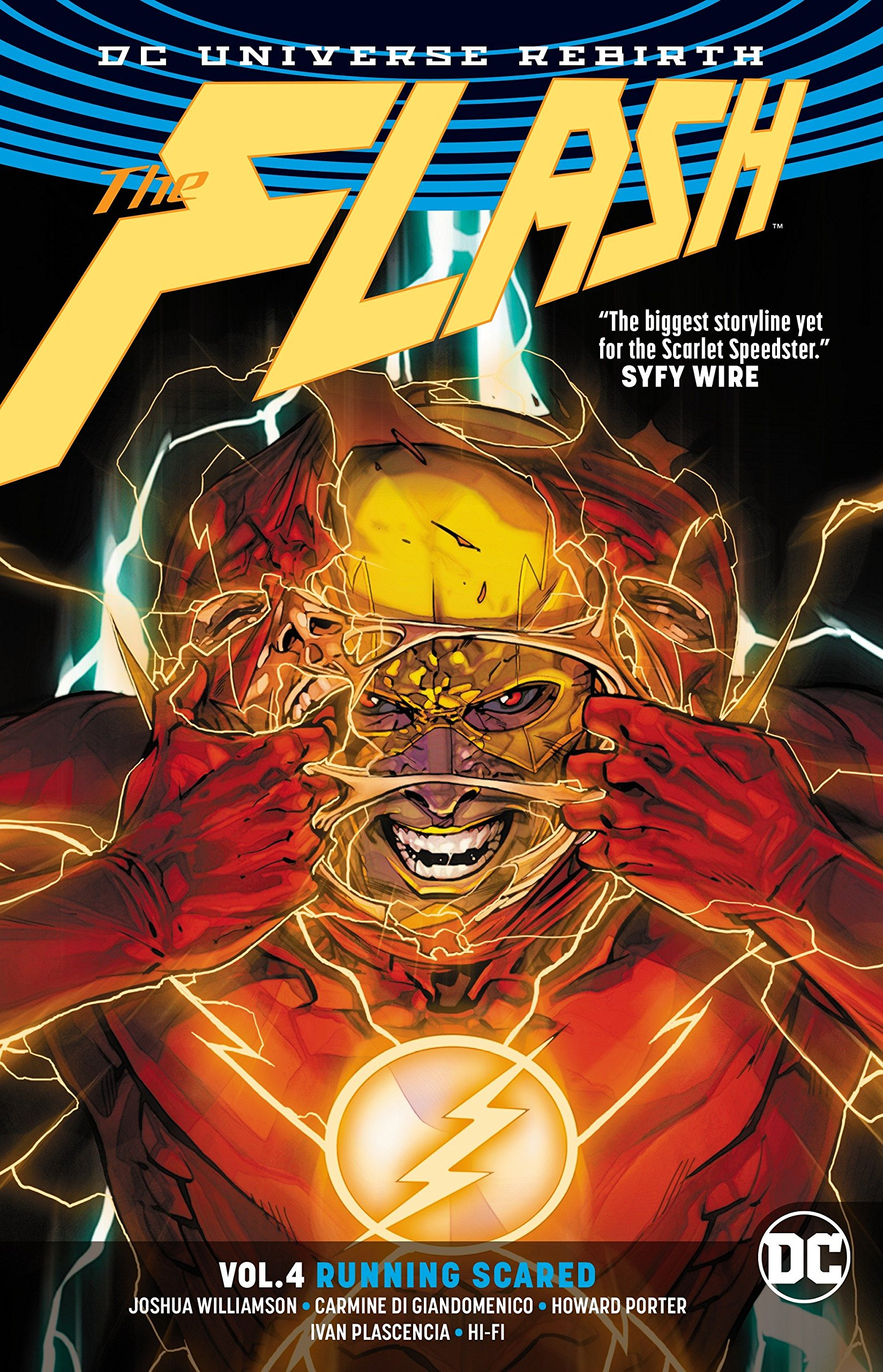 The Flash Vol. 4: Running Scared (Rebirth) by DC Comics