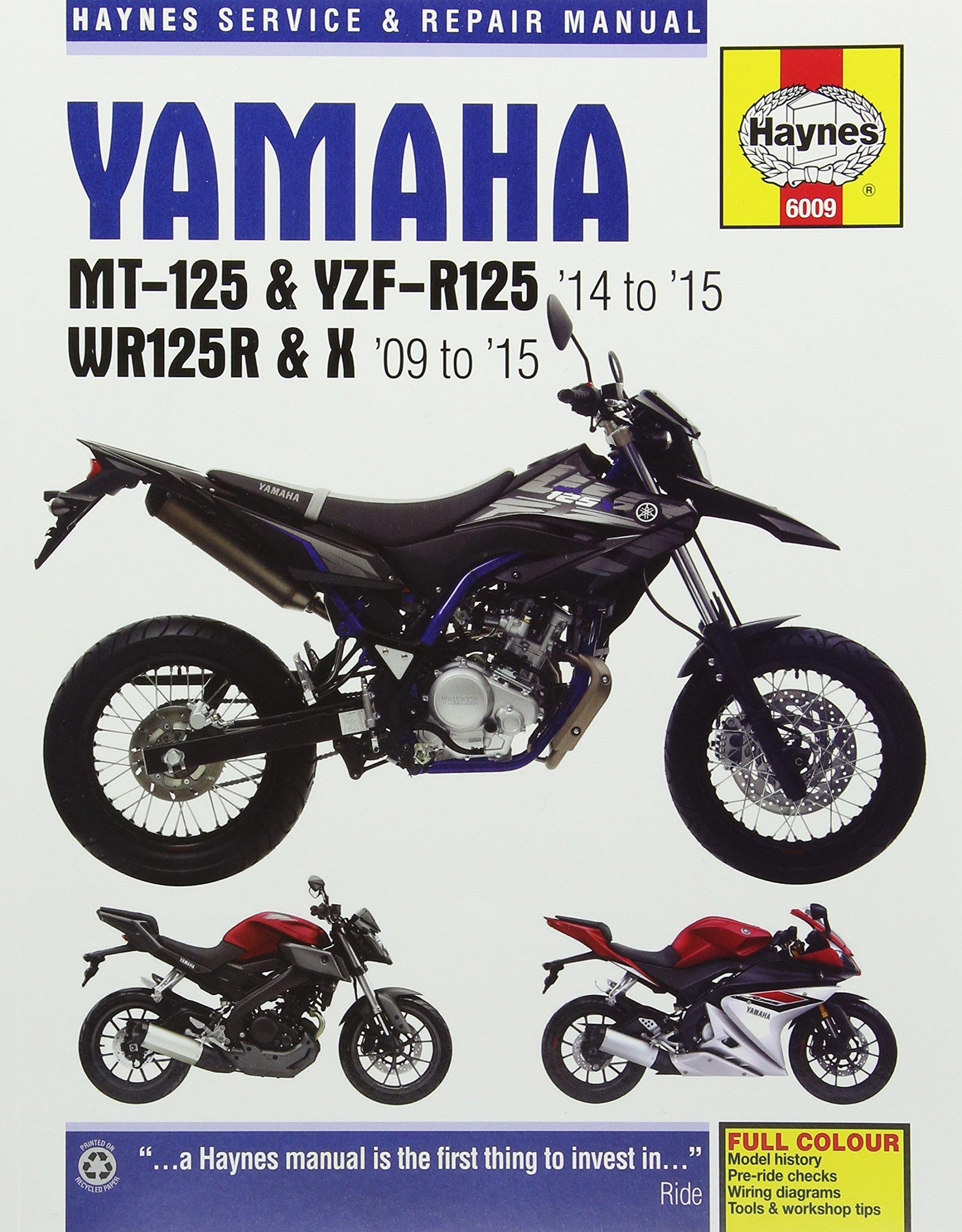 974c196e320 Amazon.fr - Yamaha Mt-125, YZF-R125 & Wr125R/X (09 - 15) - Matthew Coombs -  Livres