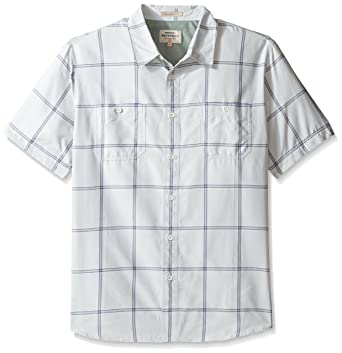 b9cf52798bf Amazon.com  Quiksilver Men s Indian Summer Woven Top  Clothing