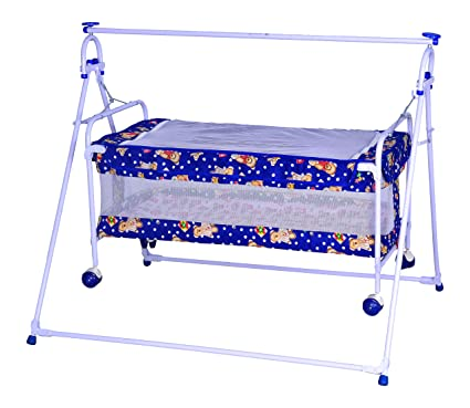 6a579f83c Buy Mothertouch Baby Cradle Cum Cot (Blue) Online at Low Prices in India -  Amazon.in