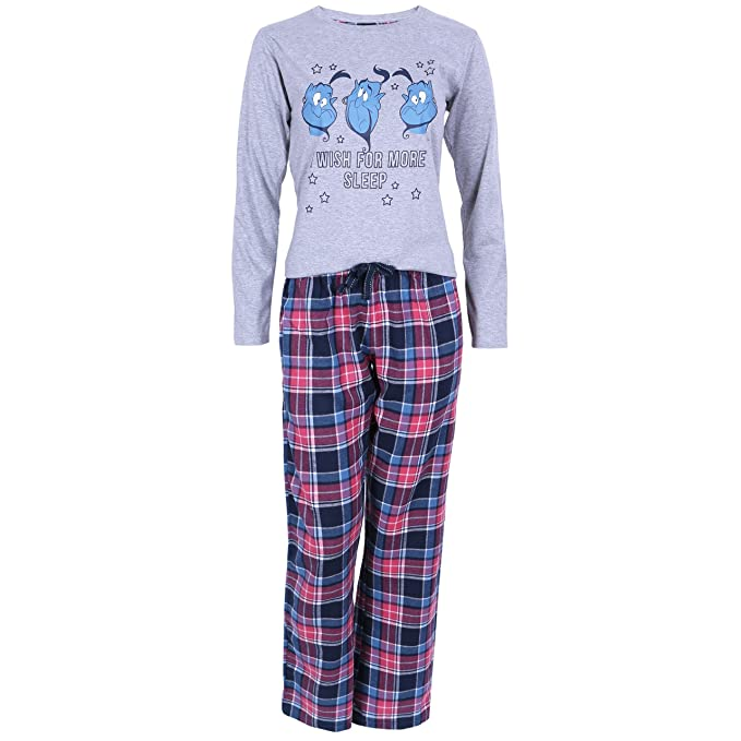 Disney - Aladdin - Pijama - para mujer Gris gris