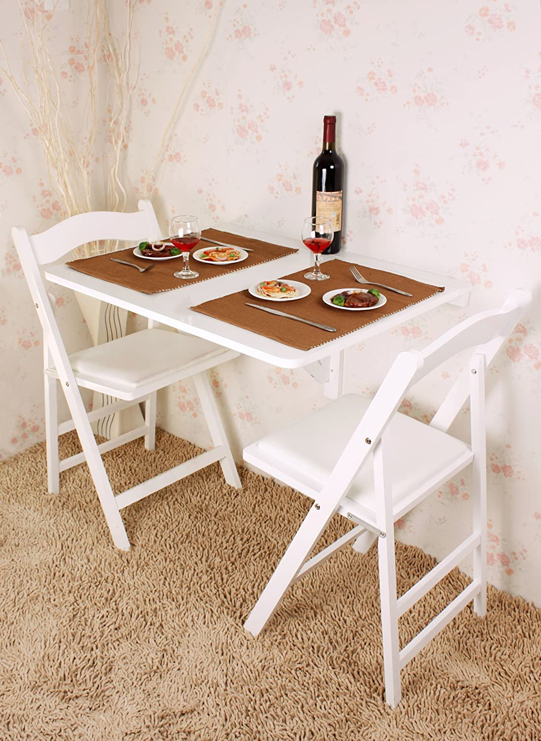 excellent sobuy fwtw table murale rabattables table de cuisine pliante table rabat pour enfant. Black Bedroom Furniture Sets. Home Design Ideas