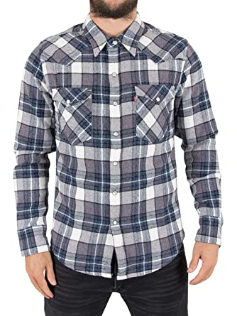 acafd3f222 Levi s Men s Barstow Western Check Shirt