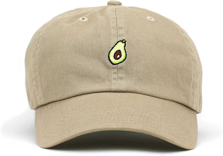 Classic Comfortable Fresh Avocado Yummy Adjustable Baseball Cap