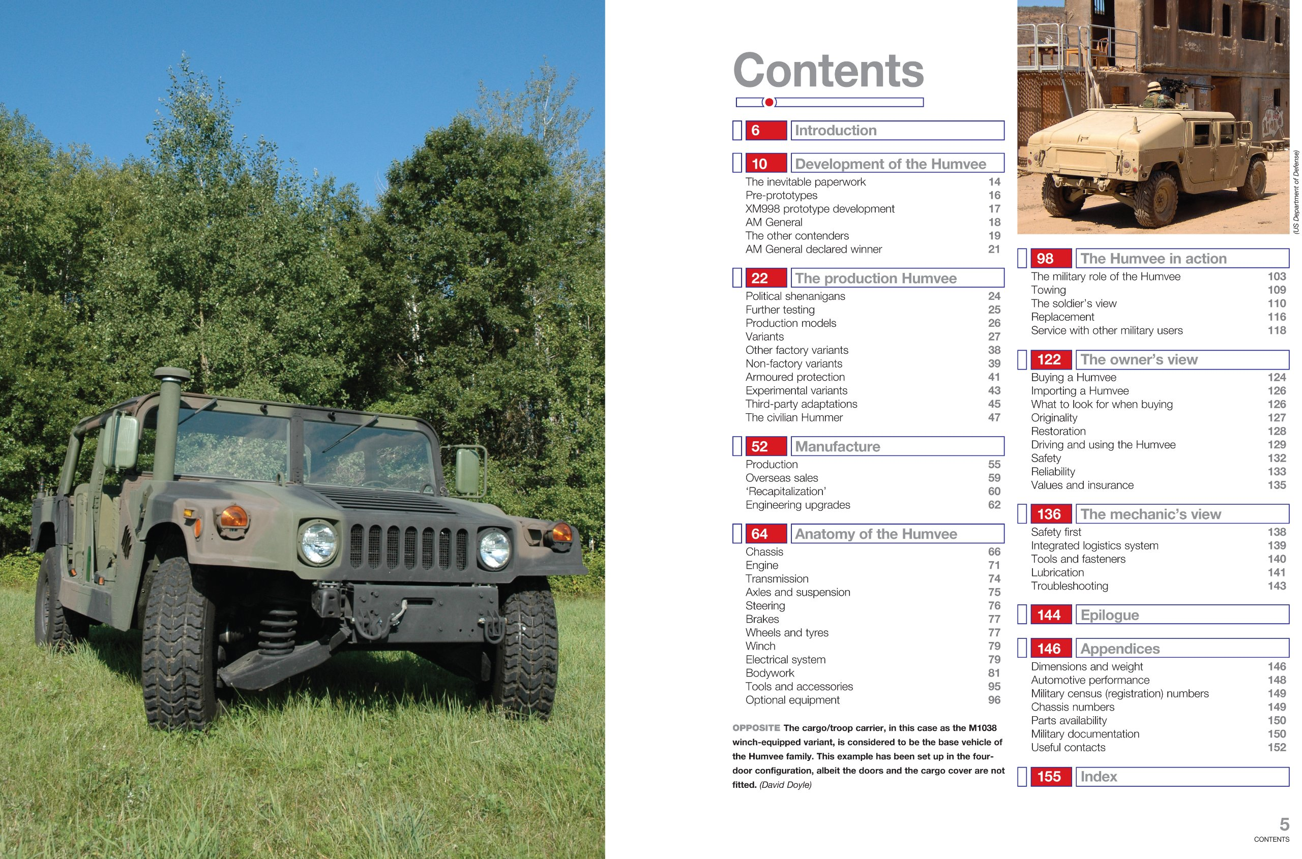 Am General Humvee: The US Army's iconic high-mobility multi-purpose wheeled  vehicle (HMMWV) (Enthusiasts' Manual): Pat Ware: 9780857333742: Amazon.com:  ...