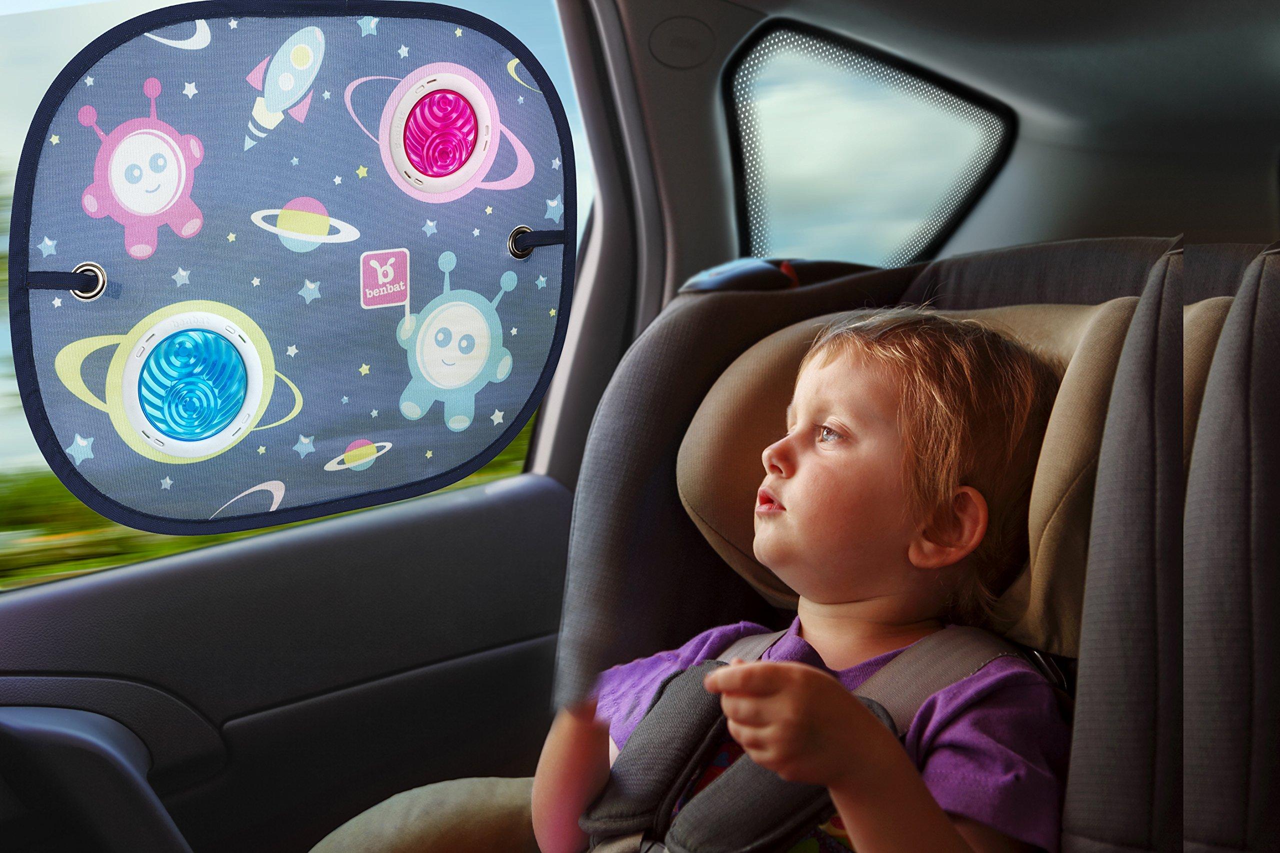 Benbat 2 Count Bubble Dream Round Car Sunshade by BenBat (Image #2)