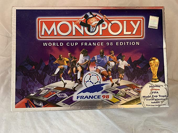 Waddingtons Board Game 19618 - Monopoly World Cup France 98 Edition: Amazon.es: Juguetes y juegos