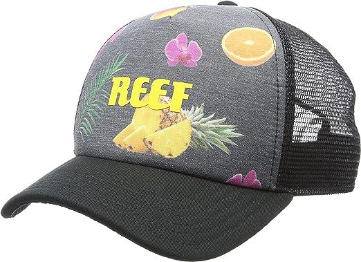 Reef_Apparel Reef Colors Hat Yellow, Gorra de béisbol para Hombre ...
