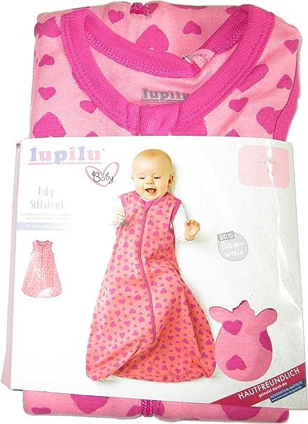 lupilu® – Saco de dormir para bebé rosa rosa Talla:70