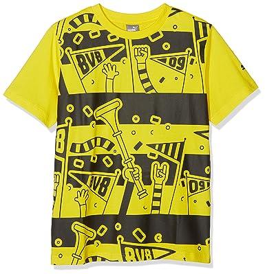 Puma Kinder BVB Fan Tee Jr T Shirt 754598 Jungen