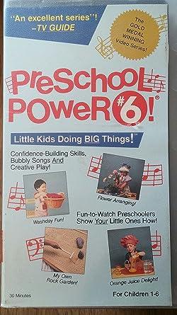 43befd26fe Amazon.com  Preschool Power 6  VHS   Preschool Power  Movies   TV