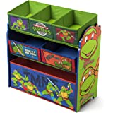 Delta Children Multi Bin Toy Organizer Nickelodeon Ninja Turtles