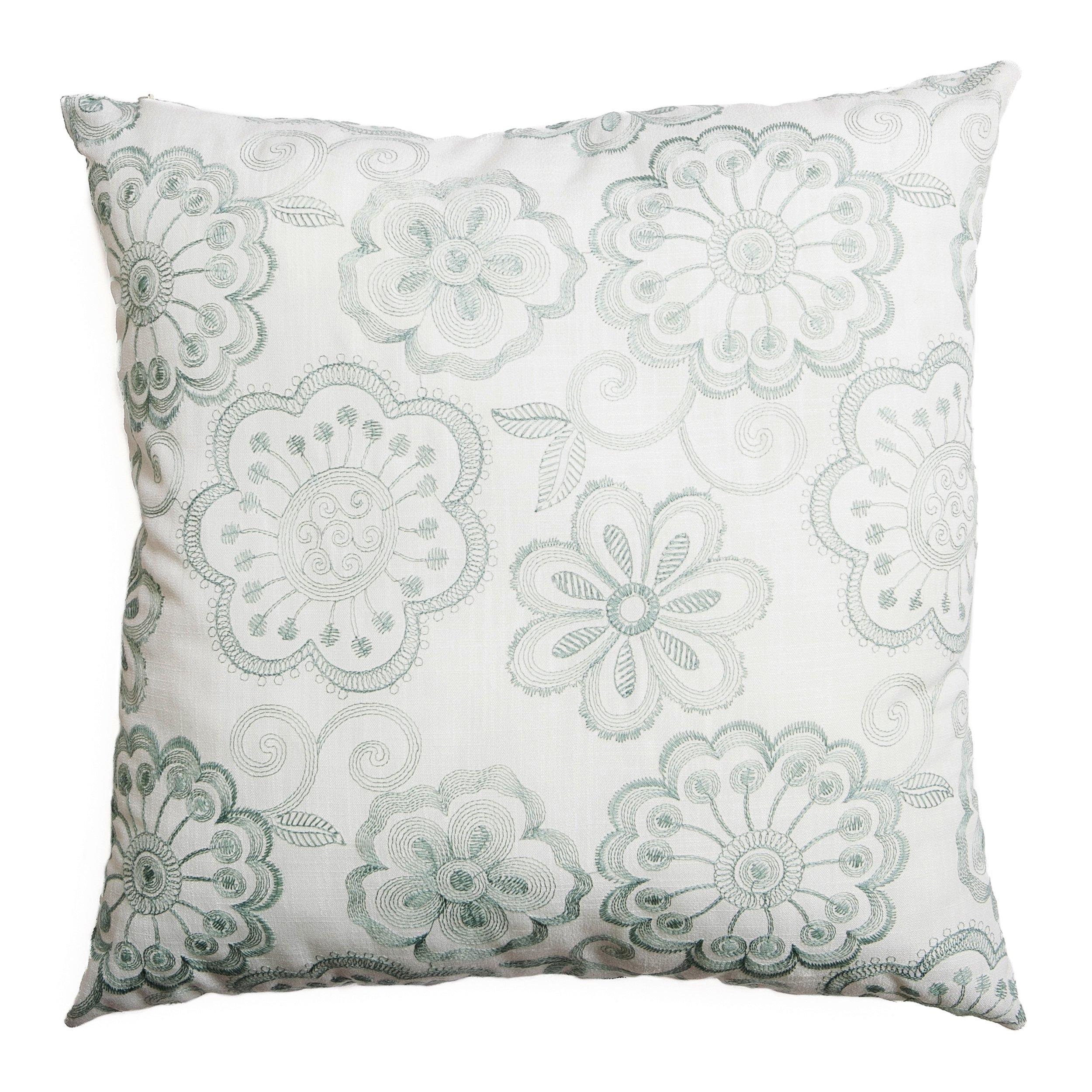 Softline Home Fashions 924ESP46818XPF Estero Decorative Pillow, 18'', Spa
